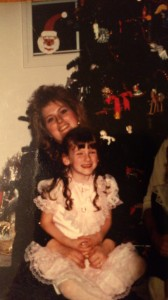 6 year-old Christi and Mom
