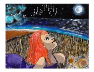 Believe in Possibility Freckles N' Toes Painting