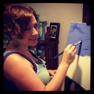 Christi Brittain, Interpreter & Artist at Freckles N' Toes