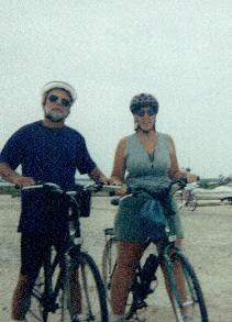 Annie & Paul, 50 mile cycling fundraiser in Florida from Navarre Beach to Gulf Breeze and back