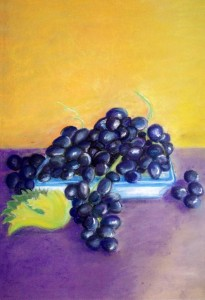 Annie Haynes, ASL Intepreter & Artist, Grapes for Whitesides