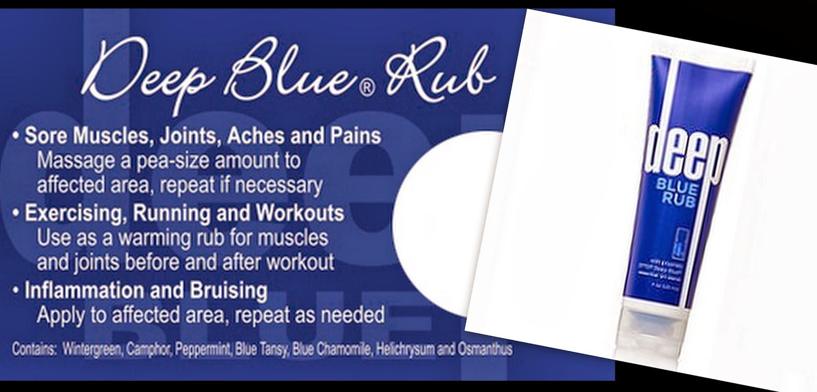 deep blue benefits