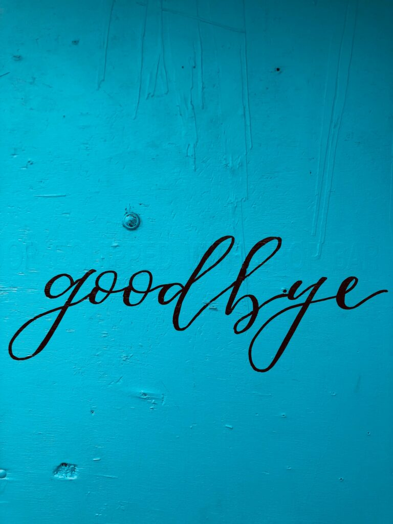 blue background with black text goodbye Tag: goodbye 2020 annual reflection